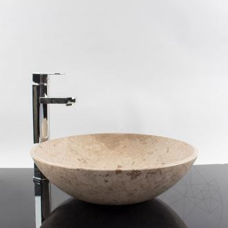 Bathroom Sink - Sunny Dream Limestone 42 x 12,5 cm