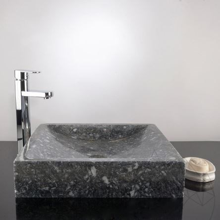 Bathroom Sink - King Blue Marble, 40 x 45 x 10 cm
