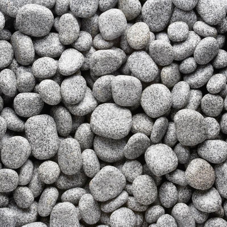 Rock Star Grey Discus Granite Pebble 5-15 cm KG( 128413)