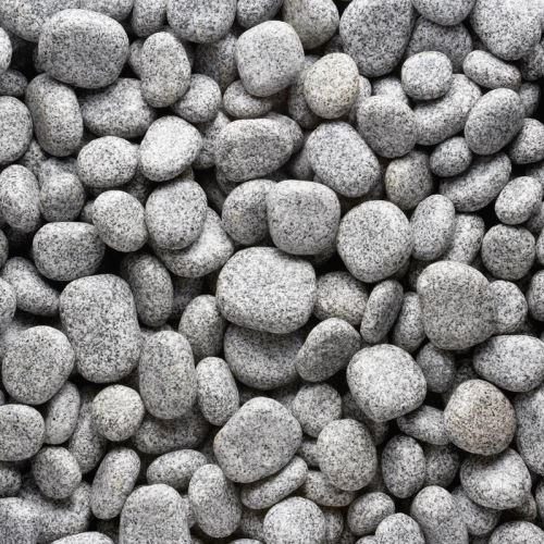 Rock Star Grey Discus Granite Pebble 5-15 cm KG
