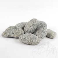 Rock Star Grey Granite Pebble 6 - 10 cm  KG