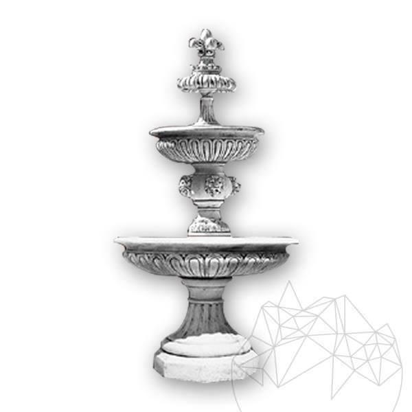 Fontana Impero F65 FB - Garden Water Fountain (H: 250 cm, D: 160 cm, 870 Kg)