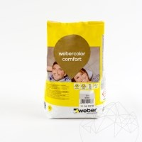 Weber Color Comfort  - Flexible wall & floor grout 5 KG -