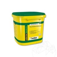 Flexible Bicomponent underlay for interior & exterior - Weber Tec Superflex D2, 24 kg