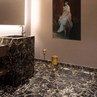 Portoro Gold Polished Marble 60 x 60 x 1.5 cm