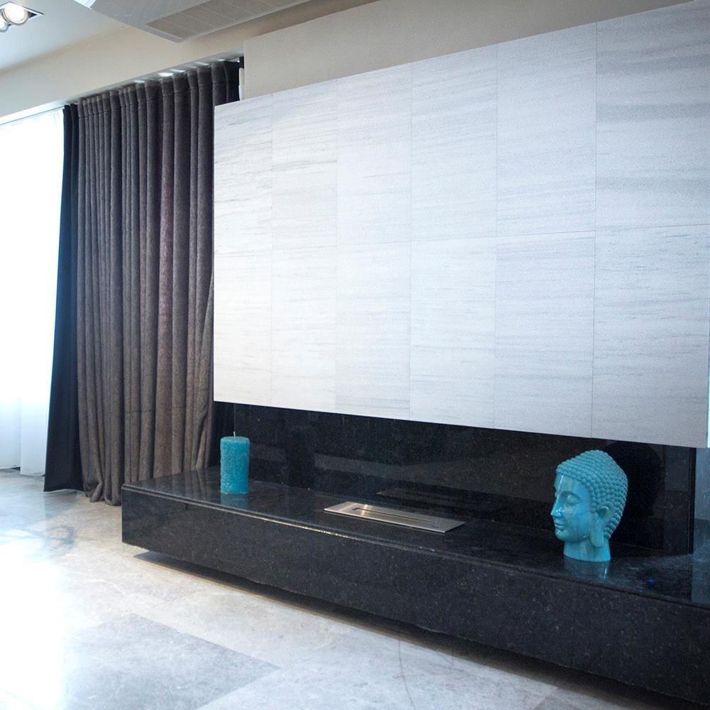 Kavala Cross Cut Sablasted Marble 60 x 30 x 1 cm