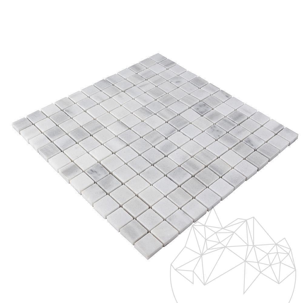 Kavala Marble Polished Mosaic 2.3 x 2.3 cm title=Kavala Marble Polished Mosaic 2.3 x 2.3 cm