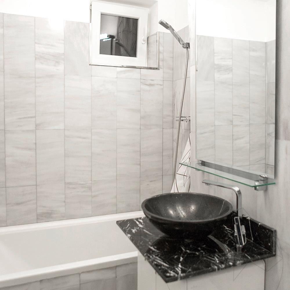 Kavala Cross Cut Polished Marble 40 x 20 x 1 cm title=Kavala Cross Cut Polished Marble 40 x 20 x 1 cm