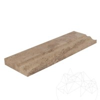 Latte Travertine M10 Moulding 10 x 30.5 x 2 cm