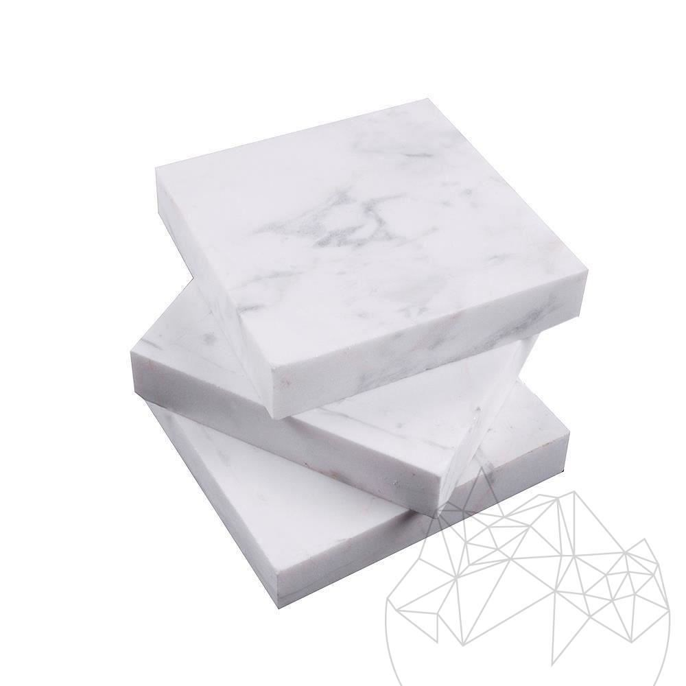 Volakas Marble Polished Cufflink 9.5 x 9.5 x 2 cm title=Volakas Marble Polished Cufflink 9.5 x 9.5 x 2 cm