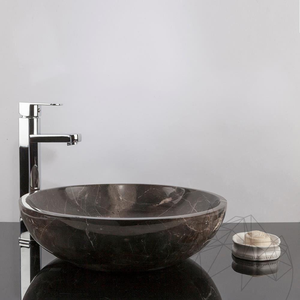 Bathroom Sink - Cleopatra Marble, 42 x 14 cm title=Bathroom Sink - Cleopatra Marble, 42 x 14 cm