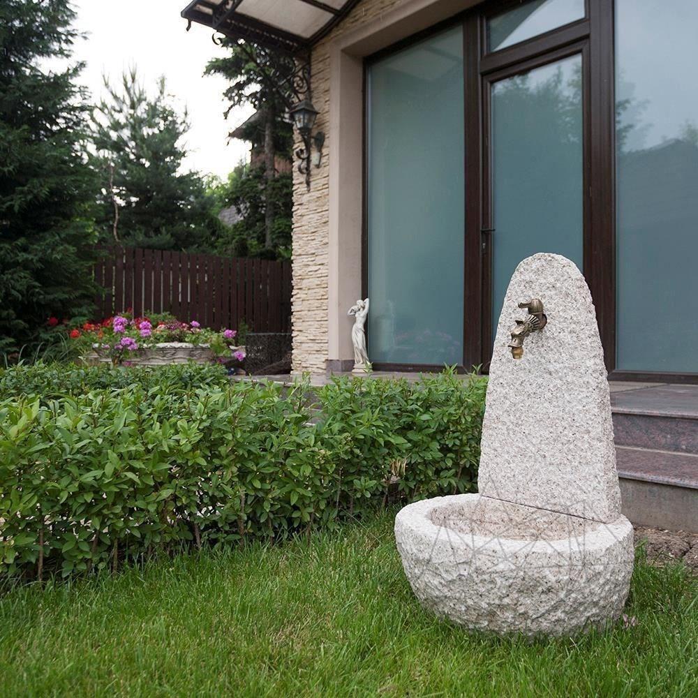 Padang Yellow Granite (40 x 40 x 70 cm) - Free standing Water Fountain