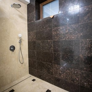 Tan Brown Polished & Beveled Edge Granite 61 x 30.5 x 1 cm
