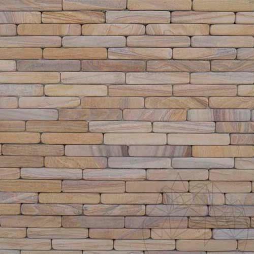 Fileti Tumbled Rainbow Sandstone 4 x 20 cm - Stock Clearance