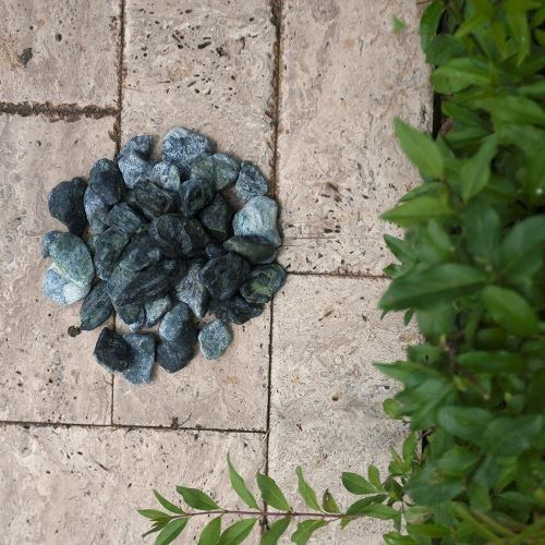 Green Marble Pebble Bag 20 KG