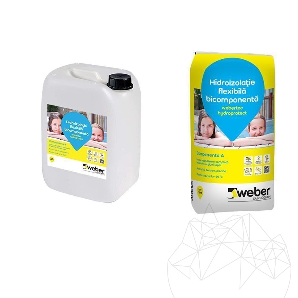 Weber Tec Hydroprotect Kit (Bag 20 KG + Drum 10 KG) title=Weber Tec Hydroprotect Kit (Bag 20 KG + Drum 10 KG)