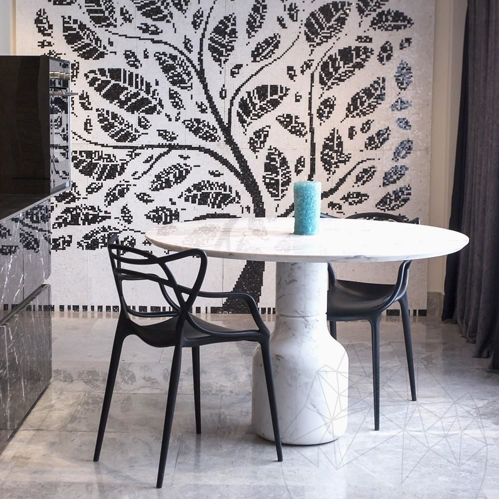 Volakas Marble - Moon Dining Table