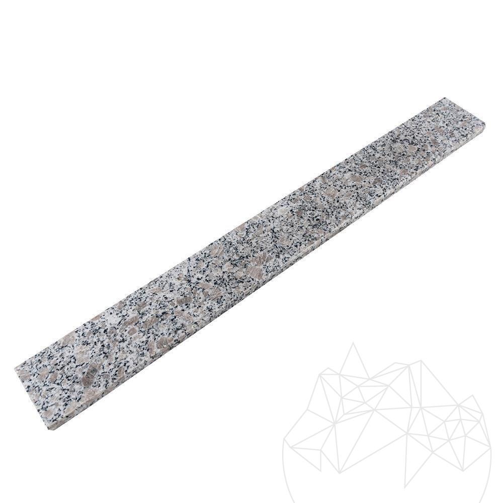 Rock Star Grey Granite Polished Plinth 7 x 60 x 1 cm title=Rock Star Grey Granite Polished Plinth 7 x 60 x 1 cm