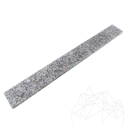 Rock Star Grey Granite Polished Plinth 7 x 60 x 1 cm