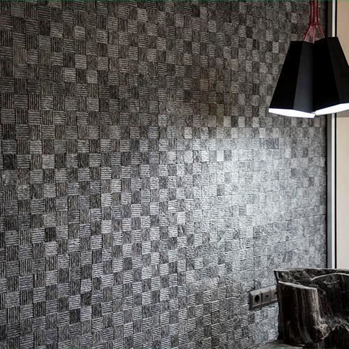 Black Dizzy Marble Mosaic
