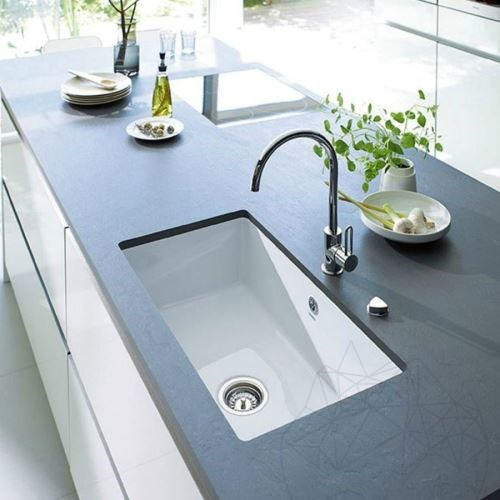Nero Slate Brushed Countertop 110 x 65 x 2 cm