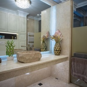 Crema Royal Marble Polished Countertop 250 x 65 x 3 cm
