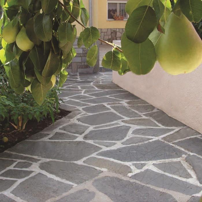 Kavala polygonal Slate - Patio flagstone slabs (1sm=7-10 pieces)
