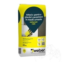Ceramic tiles adhesive for wet spaces - Weber Set H20