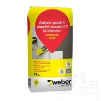 Ceramic tiles adhesive for interior - Weber Set ST10
