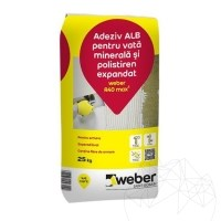 Adhesive for mineral wool & expanded polystyrene - Weber R40 max²