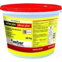 Silicone decorative plaster – Weber Pas Silicone Plus/medium granules - R853