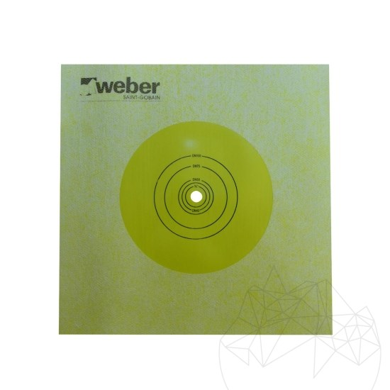 Insulation bands for underlay system - Weber Tec 828 MD insulation band