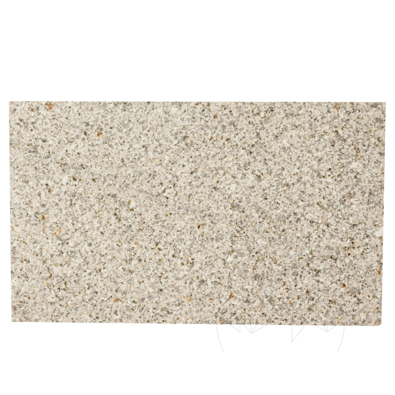 Pizza Stone Padang Yellow Honed Granite 50 x 30 x 2 cm
