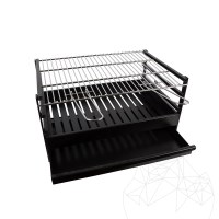 Accessories: Barbecue metallic grill(60 x 40 x 29 cm)