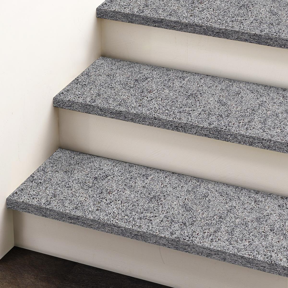 Padang Dark Flamed Granite Stair 120 x 33 x 2 cm