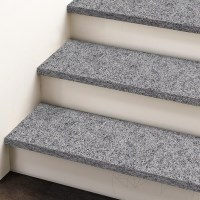 Padang Dark Flamed Granite Stair 120 x 33 x 2 cm