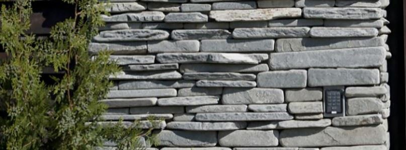 What type of stone to choose for your fence