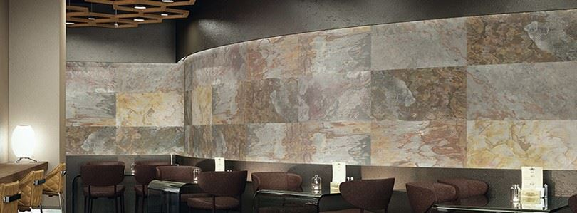 SKIN flexible slate veneer – the ideal natural stone for exterior and interior decorating