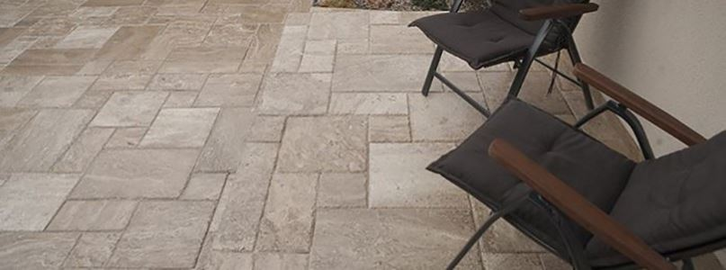 What type of pavement can you choose for the yard