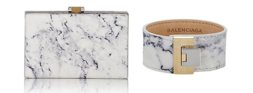 Marble, the latest trend in fashion and IT
