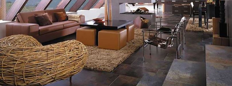 How to choose a natural stone floor for a house with children and pets