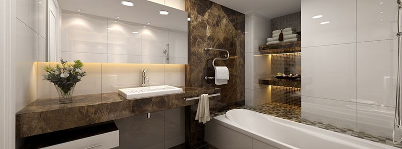 How to install natural stone in your bathroom?