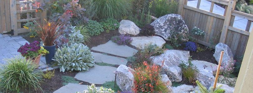Fresh ideas for landscaping a small garden