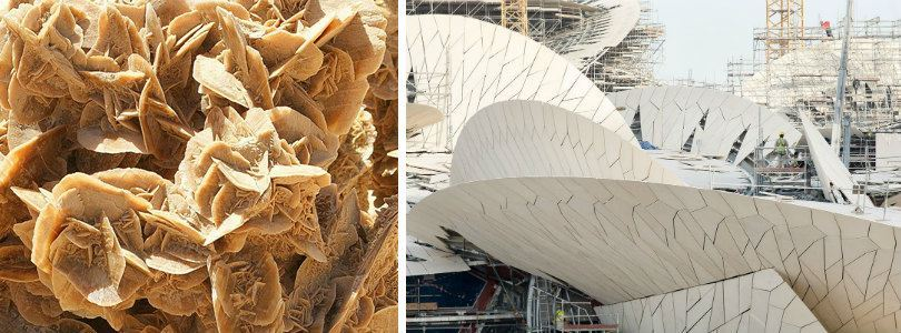 Qatar's National Museum by Jean Nouvel becomes the new Desert Rose