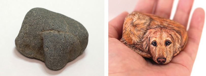 Japanese sculptor Akie Nakata and her realistic natural stone animals