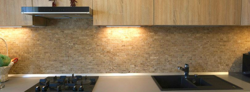 How to install natural stone mosaic tile