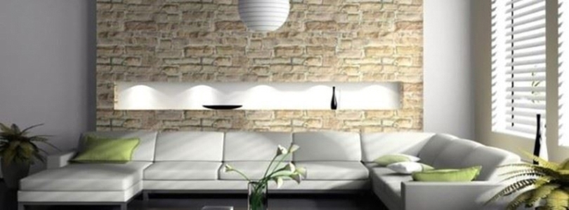 How to decorate your living room with natural stone