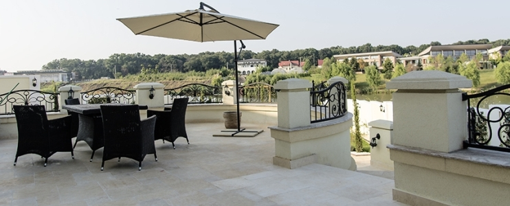 Tips for using natural stone on your terrace