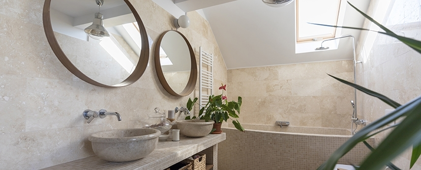 Discover 6 natural stones for your bathroom decoration project