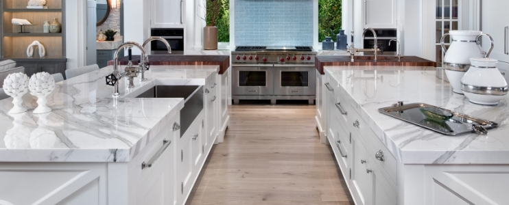5 Reasons to choose marble for your kitchen countertop